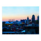 Im Stadtzentrum gelegenes Kansas City, Missouri, Postkarte