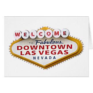 Im Stadtzentrum gelegenes Las Vegas Ihre Karte