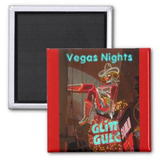 Im Stadtzentrum gelegenes Las Vegas Quadratischer Magnet