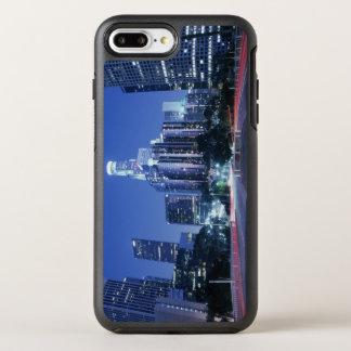 Im Stadtzentrum gelegenes Los Angeles OtterBox Symmetry iPhone 8 Plus/7 Plus Hülle