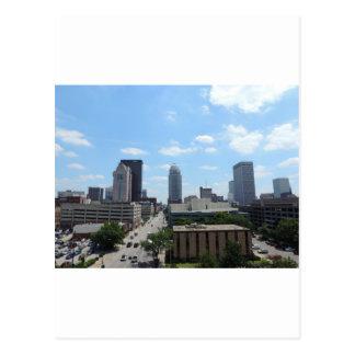 Im Stadtzentrum gelegenes Louisville Postkarte