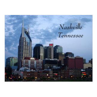 Im Stadtzentrum gelegenes Nashville, Tennessee Postkarte