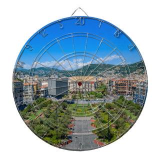 Im Stadtzentrum gelegenes Nizza, Frankreich Dartscheibe