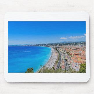 Im Stadtzentrum gelegenes Nizza, Frankreich Mousepad