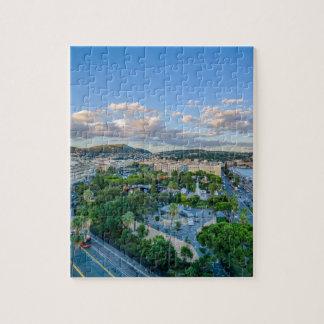 Im Stadtzentrum gelegenes Nizza, Frankreich Puzzle