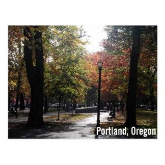 Im Stadtzentrum gelegenes Portland, P.S. Postkarte