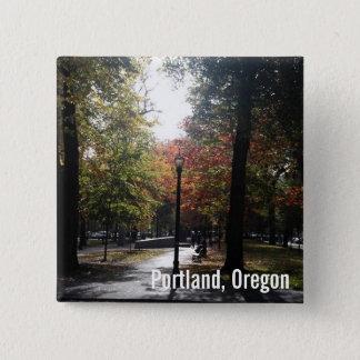 Im Stadtzentrum gelegenes Portland, P.S. Quadratischer Button 5,1 Cm