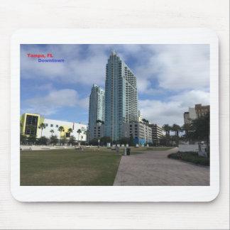 Im Stadtzentrum gelegenes Tampa, FL-Material! Mousepad