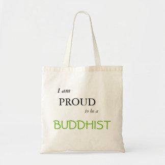 im stolz, ein Buddhist zu sein Tragetasche