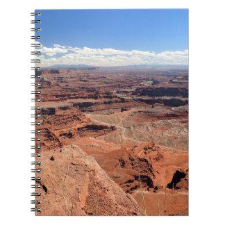 Im Voraus bezahlte Leistungs-Punkt-Notizbuch Spiral Notizblock