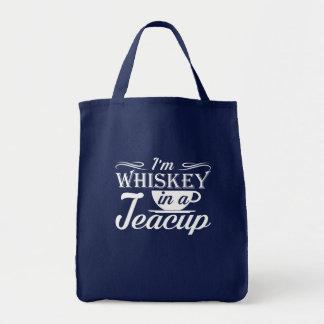 Im Whisky in einer Teacuplustigen Teacup-Liebe Tragetasche