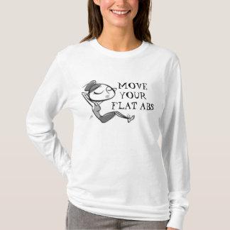 imagesCA9R2AHG, BEWEGEN IHRE FLACHE ABS T-Shirt