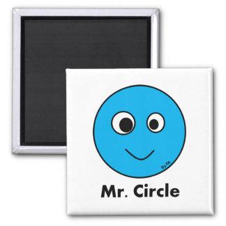 Imam Mr_. Circle By SCHAUFEL Quadratischer Magnet