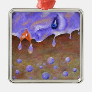 Imatrion V1 - die Vision Silbernes Ornament