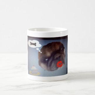 Imbiss-Hundekaffee-Tasse Kaffeetasse