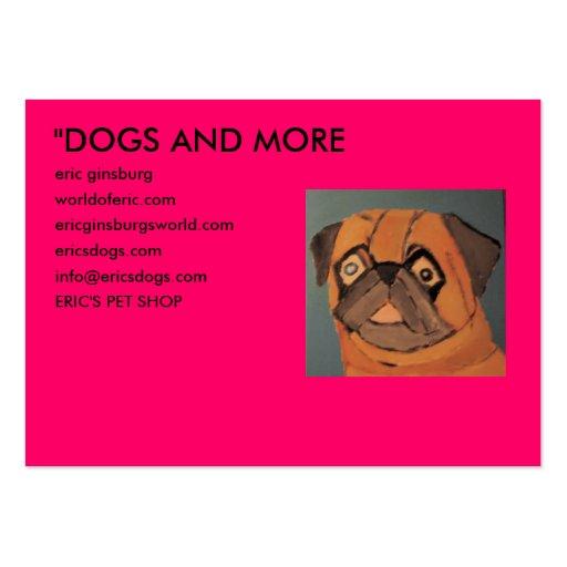 "IMG_0135, ""HUNDE UND MEHR, Eric ginsburg, worldo… Mini-Visitenkarten"