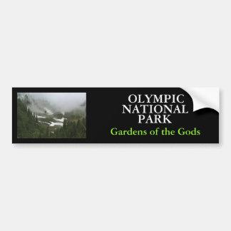 IMG_2155, OLYMPISCH, NATIONAL, PARK, Gärten von… Autoaufkleber