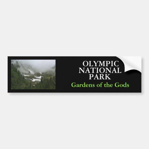 IMG_2155, OLYMPISCH, NATIONAL, PARK, Gärten von… Autosticker