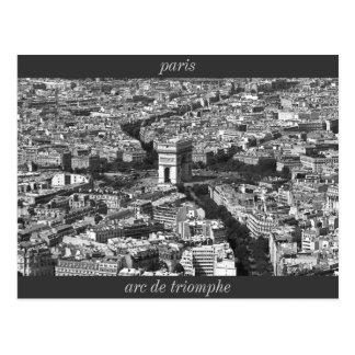 IMG_2588_2, der Arc de Triomphe, Paris Postkarte