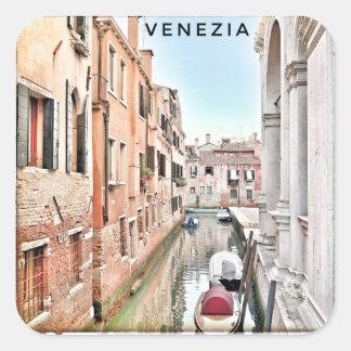 IMG_7575 4 Venedig Quadratischer Aufkleber