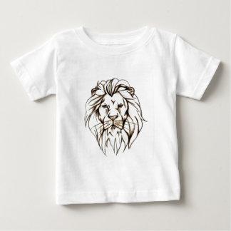 IMG_7779.PNG brave Löweentwurf Baby T-shirt