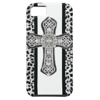 Imitat-diamante de imitación-Kreuz Iphone 5 Fall Schutzhülle Fürs iPhone 5