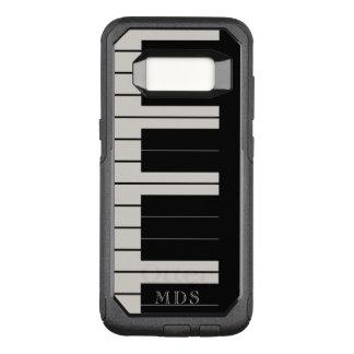 Imitat-Ebenholz-Elfenbein OtterBox Klavier OtterBox Commuter Samsung Galaxy S8 Hülle
