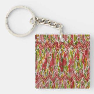 Imitat-HandSmocked Sparren Schlüsselanhänger