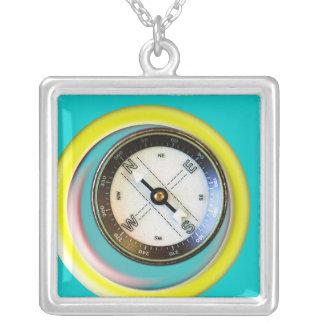 Imitat-Kompass Halsketten