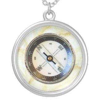 Imitat-Kompass Selbst Gestalteter Schmuck