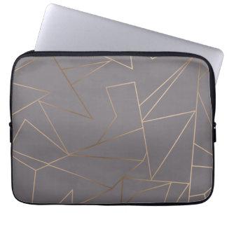 Imitat-Rosen-Goldelegantes modernes unbedeutendes Laptopschutzhülle