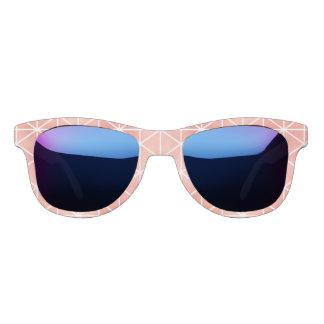 Imitat-Rosen-Goldfolie Traingle Muster Brille