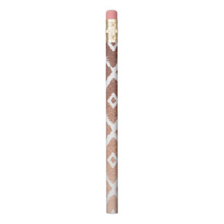 Imitat-Rosen-Goldfolien-Stammes- Muster Bleistift