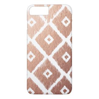 Imitat-Rosen-Goldfolien-Stammes- Muster iPhone 8 Plus/7 Plus Hülle