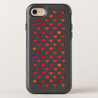 Imitat schnitt Herzen heraus OtterBox Symmetry iPhone 8/7 Hülle
