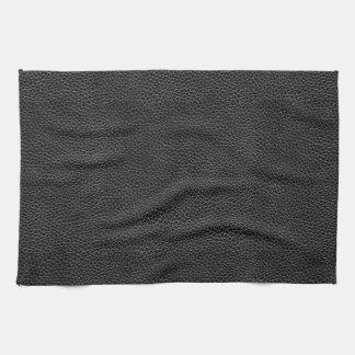 Imitat-schwarzes Leder Küchentuch