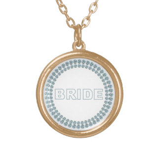 Imitat-Show-Braut-Halskette Halskette Mit Rundem Anhänger