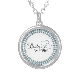 Imitat-Show-Braut, zum Kreis zu sein Halskette Mit Rundem Anhänger