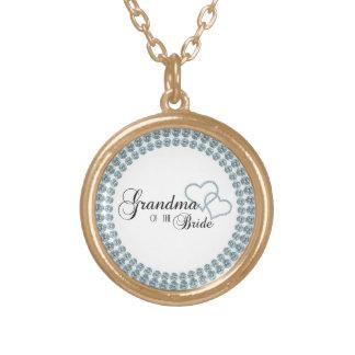 Imitat-Show-Großmutter des Braut-Kreises Halskette Mit Rundem Anhänger