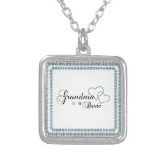 Imitat-Show-Großmutter des Braut-Quadrats Halsketten