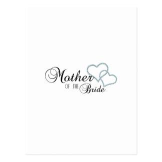 Imitat-Show-Mutter der Braut Postkarte