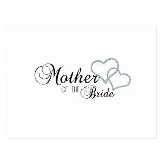 Imitat-Show-Mutter der Braut Postkarten
