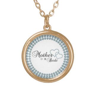 Imitat-Show-Mutter des Braut-Kreises Halskette Mit Rundem Anhänger