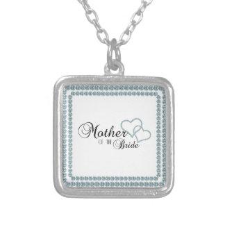 Imitat-Show-Mutter des Braut-Quadrats Halskette Mit Quadratischem Anhänger