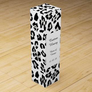 Imitat-silberne Wein-Geschenkverpackung