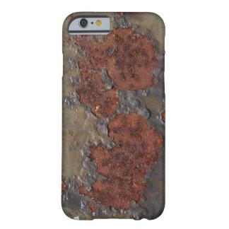 Imitatrostbeschaffenheit (braunes flockiges barely there iPhone 6 hülle