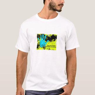 imma Biene buzzin im Schwarzen und im Gelb T-Shirt