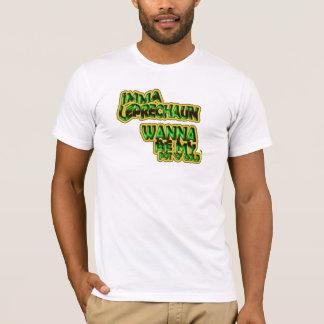 Imma Kobold wollen, um mein GoldShirt des Topf-O T-Shirt