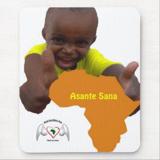 immagine calendario, Logo, Asante Sana Mousepad