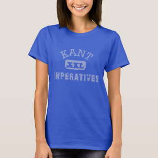 Immanuel Kants Gebot-Sport-Team T-Shirt